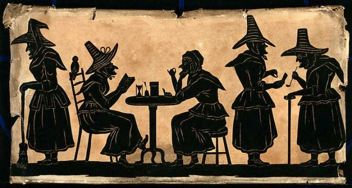 Witches;_five_silhouetted_figures._Wellcome_V0048920.jpg